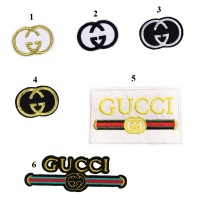20pcs Gucci Logo Patch Embroidered Applique